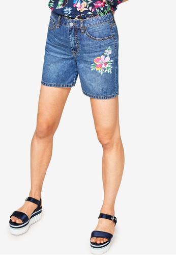 ESPRIT blue Denim Regular Shorts E6770AA8FF0B50GS_1