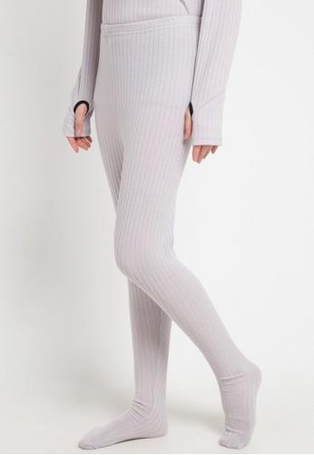 Malaika grey Legging Wudhu 7BD64AACD9B647GS_1
