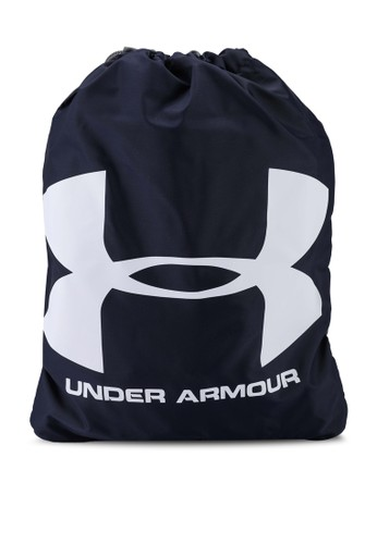 Under Armour navy UA Ozsee Sackpack 37C2BAC433479CGS_1