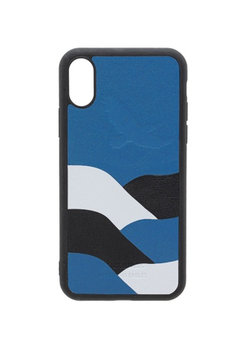 POROLUXE blue PHONE CASE FOR IPHONE X E57DCAC109501AGS_1