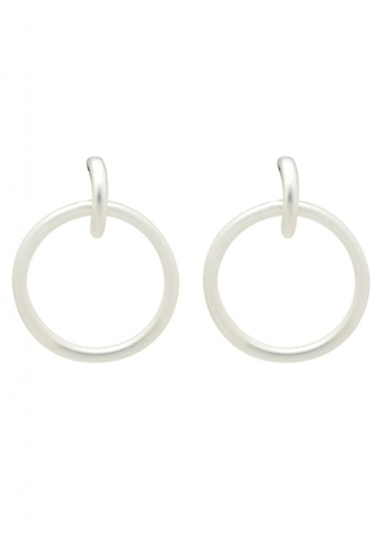 SKEDA silver Charlie Hoop Earrings BDDF6AC2548BC7GS_1