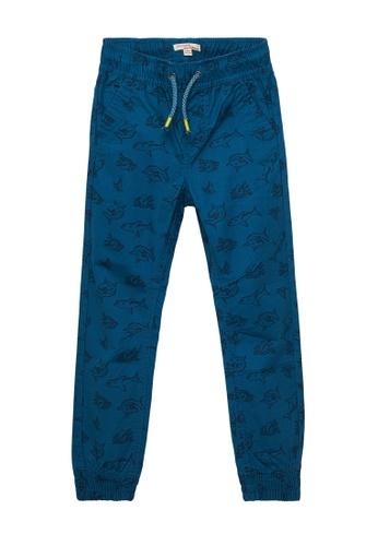 Du Pareil Au Même (DPAM) blue Blue Pants B7DCFKA2D261CBGS_1