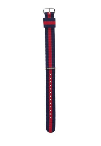 Classic Oxford-Strap Sesprit 旺角ilver 18mm, 錶類, 飾品配件