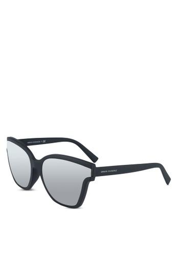 Armani Exchange black Armani AX4073SF Sunglasses C7746GLC262224GS_1