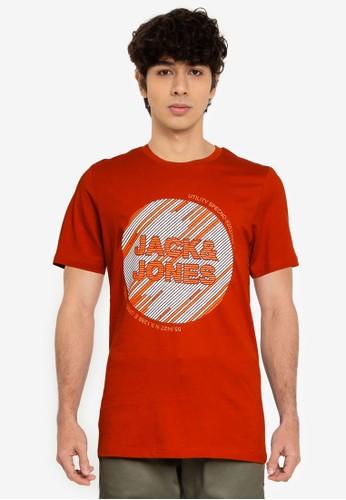 Jack & Jones red Kopa Short Sleeves Tee 3E196AA331A81CGS_1