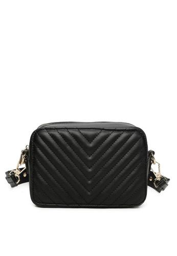 Milliot & Co. black Viola Sling Bag CA886ACCCA01D4GS_1