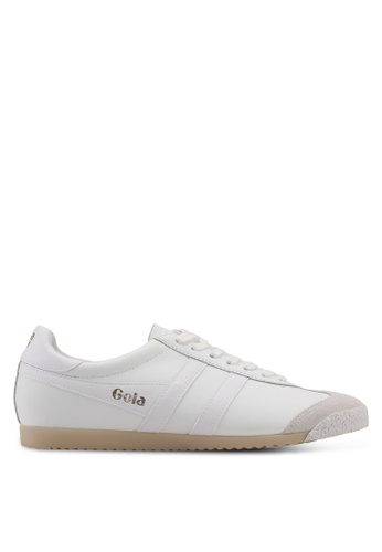 Gola white Harrier 50 Leather Sneakers F2E18SHF226A6BGS_1