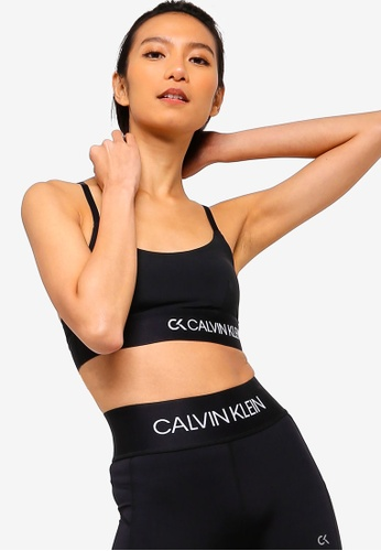 7ea0f7673e060 Calvin Klein black Light Lined Bralette - Calvin Klein Underwear  32406USAA0C019GS 1