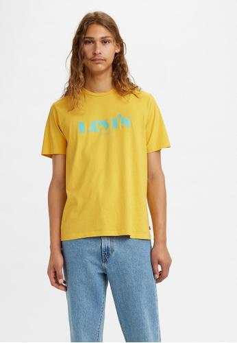 Levi's yellow Levi's® Men's Classic Graphic T-Shirt 22491-0858 E6F79AAF6E51C1GS_1