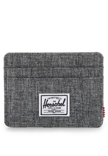 Herschel grey Charlie Wallet 6A883AC5E2B152GS_1