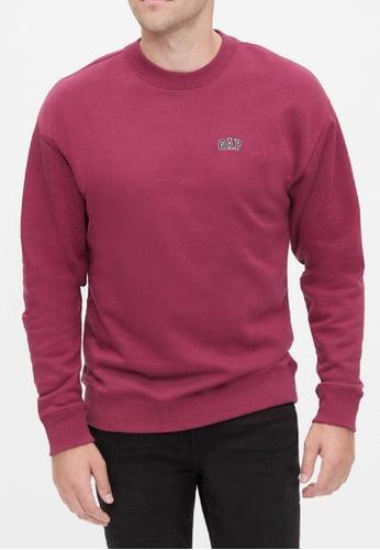 Gap purple Logo Crewneck Sweatshirt B543AAA8CFD39BGS_1