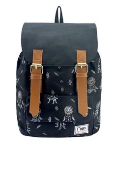Ripples black Dreamcatchers Ladies Backpack RI425AC79LKQSG 1 dfaba24f73ba2