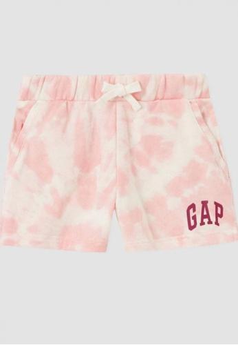Gap pink Kids Logo Shorts 77F5EKAF6CAB05GS_1