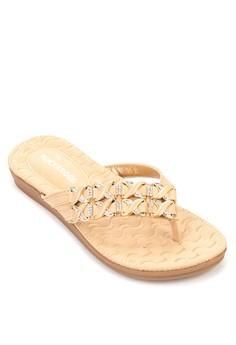 Jodie Strass Sandals