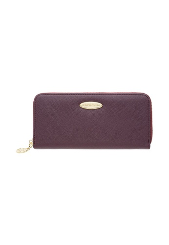 British Polo red British Polo Downward Zipped Wallet 347D1AC2DBBC31GS_1
