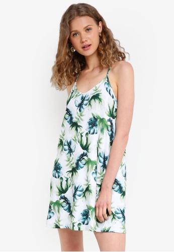 Jack Wills green Brondesbury Jersey Swing Dress 505B2AAE356DA8GS_1