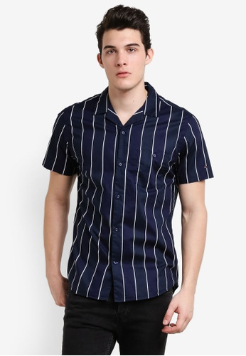 Tommy Hilfiger blue BOLD VER STP S/S NF6 TO861AA0RUM7MY_1