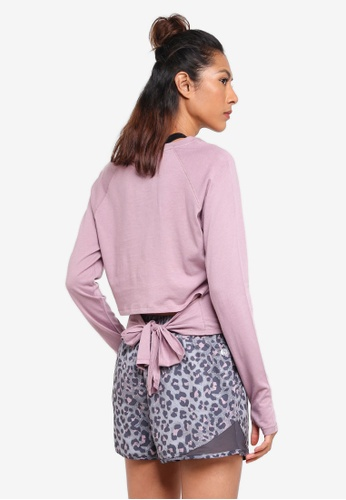 Cotton On Body multi Knotted Hem Long Sleeve Top 86494AA0898ADDGS_1