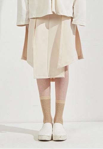 Workwear multi Beige Skirt WO056AA30FJTSG_1