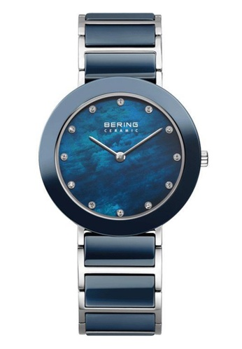 Bering blue Ceramic 11435-787 Mother Of Pearl 35 mm Women's Watch AE2CCACC8174EAGS_1