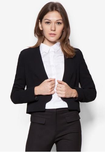 短版棉質西裝外套, 服mango服飾官網飾, 外套