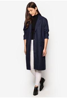 ZALORA  Collection Oversized Denim Coat
