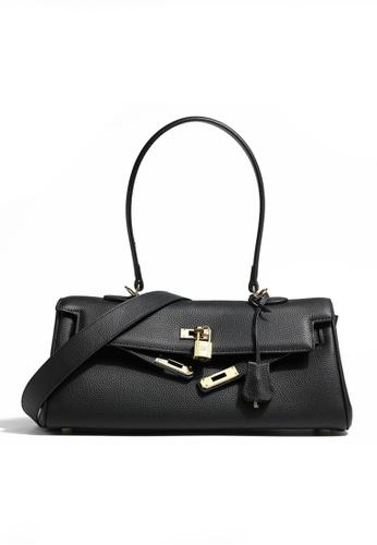 Twenty Eight Shoes black VANSA Stylish Leather Hand Bag VBW-Hb0082 F8AB5ACEE49BE8GS_1