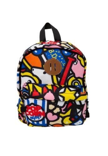 B.Duck multi B.Duck Kids Backpack (28cm) 42D87KC84C3C8BGS_1