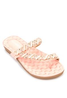 Jona Strass Sandals