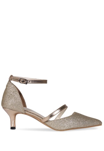 Claymore Mid Low Heels MZ - 1720 - Gold