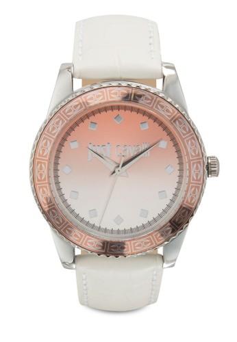 R7251202esprit 品牌507 Just Sunset 漸層皮革圓錶, 錶類, 飾品配件