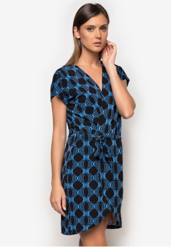 Cole Vintage blue Merrit Dress CO446AA51AKYPH_1
