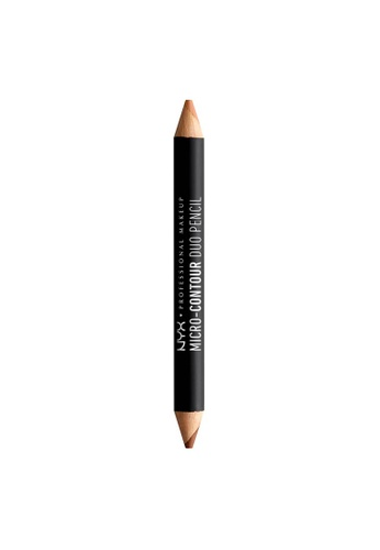 NYX Professional Makeup multi NYX Professional Makeup Micro-Contour Duo Pencil - DEEP D2E7EBE8D62932GS_1
