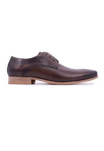 Rad Russel brown Rad Russel Lace-up Derby - Brown 80D00SH75D6594GS_1