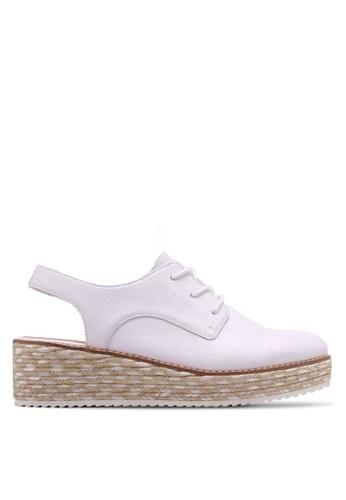 ALDO white Lambrate Lace Up Shoes 3554DSH6943C79GS_1