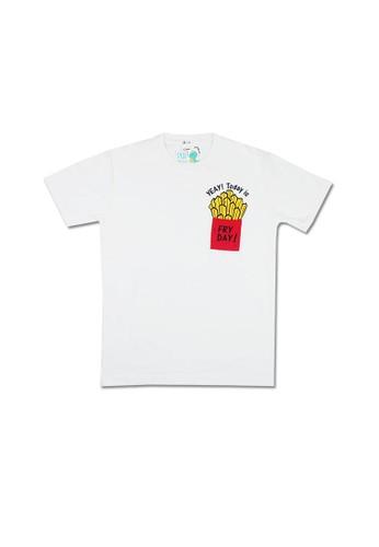 Pop Kidswear white Pop Kidswear Fry Day Adult tee ( Short Sleeves ) 0B938AAA80E053GS_1