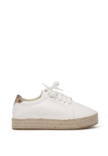 London Rag white London Rag Women's White Sneakers SH-1323 LO360SH0GTROSG_1
