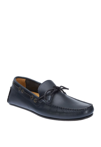 Sebago navy Tirso Tie Driving Shoes A1D13SH76279D1GS_1