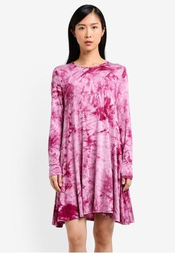 Glamorous purple Ladies Swing Dress GL059AA0RWWXMY_1