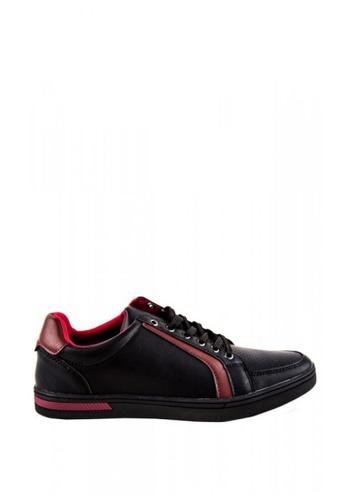 Otto black Lace-Up Men's Sneakers 50C7CSH71F653FGS_1