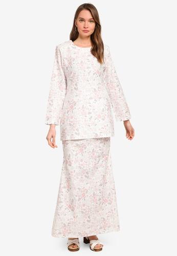 Butik Sireh Pinang white Baju Kurung Moden Alisa 8450EAA90999A6GS_1