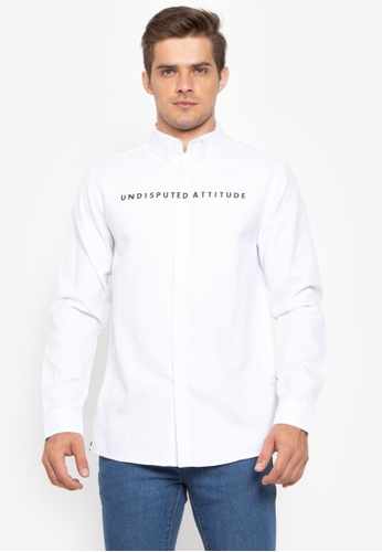 Shop Mossimo Graphic Print Long Sleeves Shirt Online on ZALORA Philippines f98371f2a96