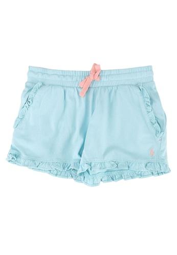 Polo Ralph Lauren blue Ruffle Bottom Shorts 92668KA5951244GS_1