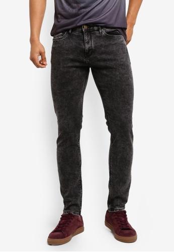 MANGO Man grey Skinny Vintage Wash Jude Jeans AAB9FAA520E2E7GS_1
