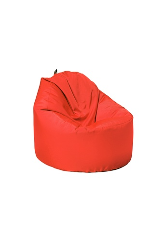 doob red OOMPH - spill-proof doob bean bag chair (Chili Red) EF64DHL9DB178BGS_1
