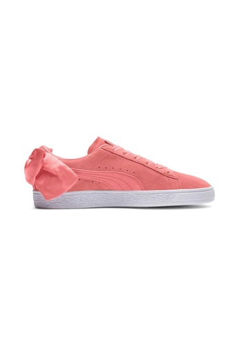 timeless design 1a73b 2504f PUMA Suede Bow Women's Sneakers 367317