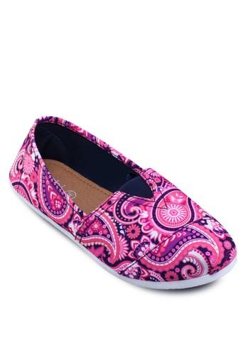 印花懶人鞋, 女鞋, 懶人zalora 評價鞋