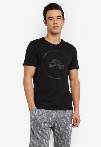 Nike black As M Nike Air Tee Logo 76CA8AA4F006A0GS_1
