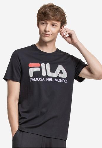 eb73b6035 Buy Fila Logo Cotton Tee Online on ZALORA Singapore