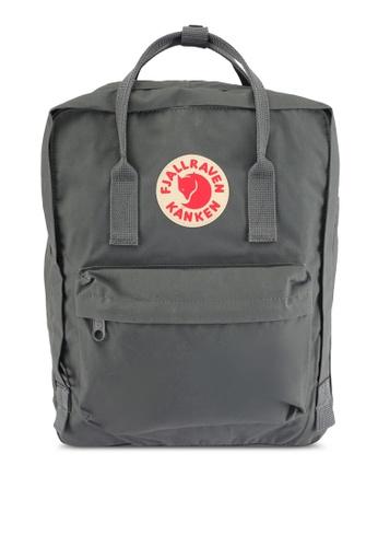 Fjallraven Kanken grey Super Grey Kanken Classic Backpack FJ382AC0SX7WMY_1